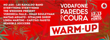 warm-up paredes de coura